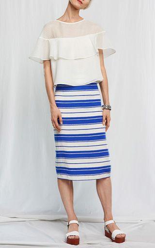 Petal Blouse by WHIT for Preorder on Moda Operandi