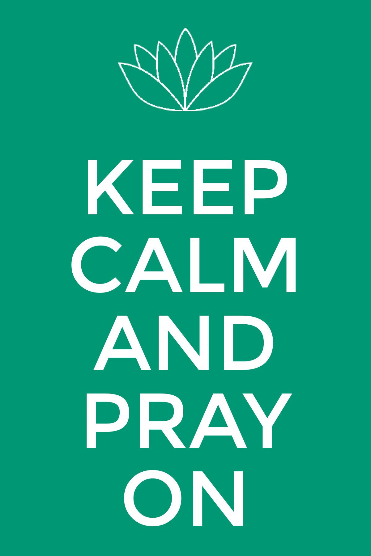 Keep calm and pray | funny sayings/quotes | Pinterest