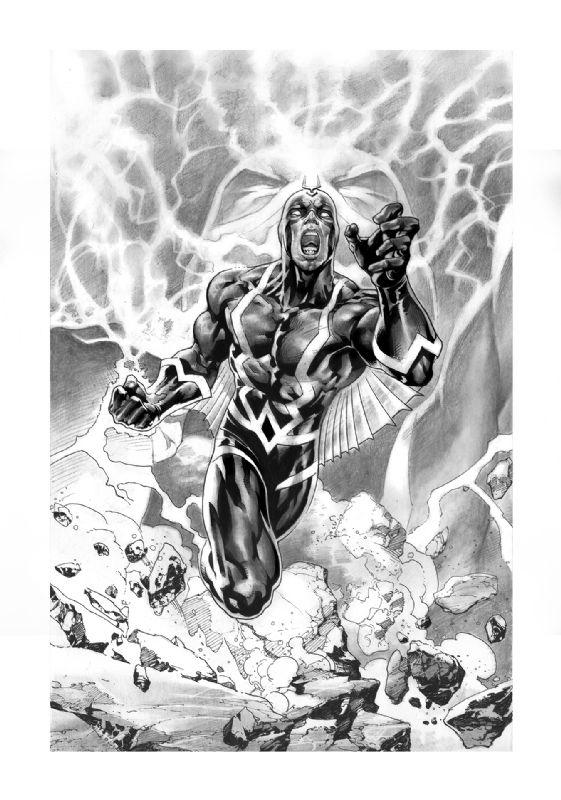 Black Bolt by Yvel Guichet | Comics: Marvel | Pinterest