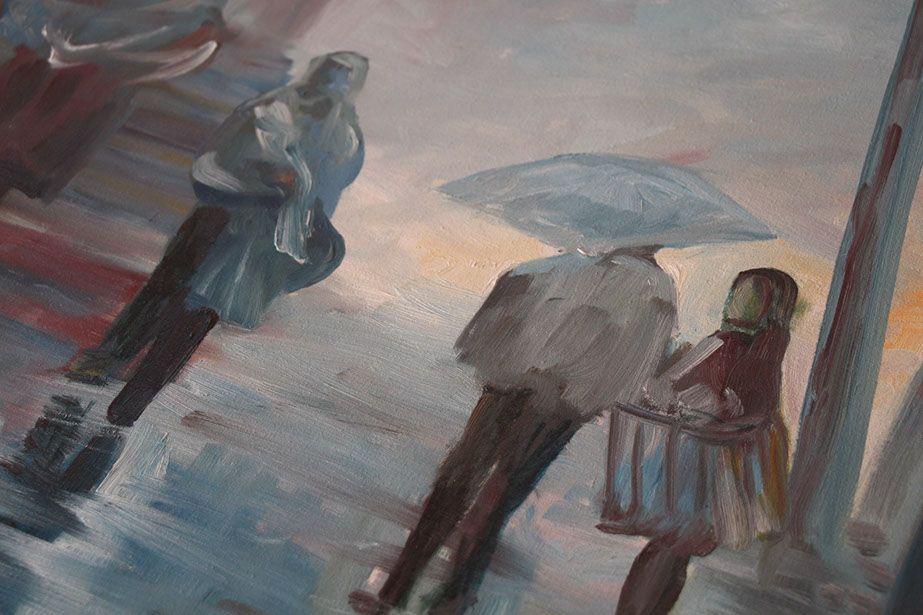 Claro, esta es una pequeña parte de una de nuestras obras de arte...