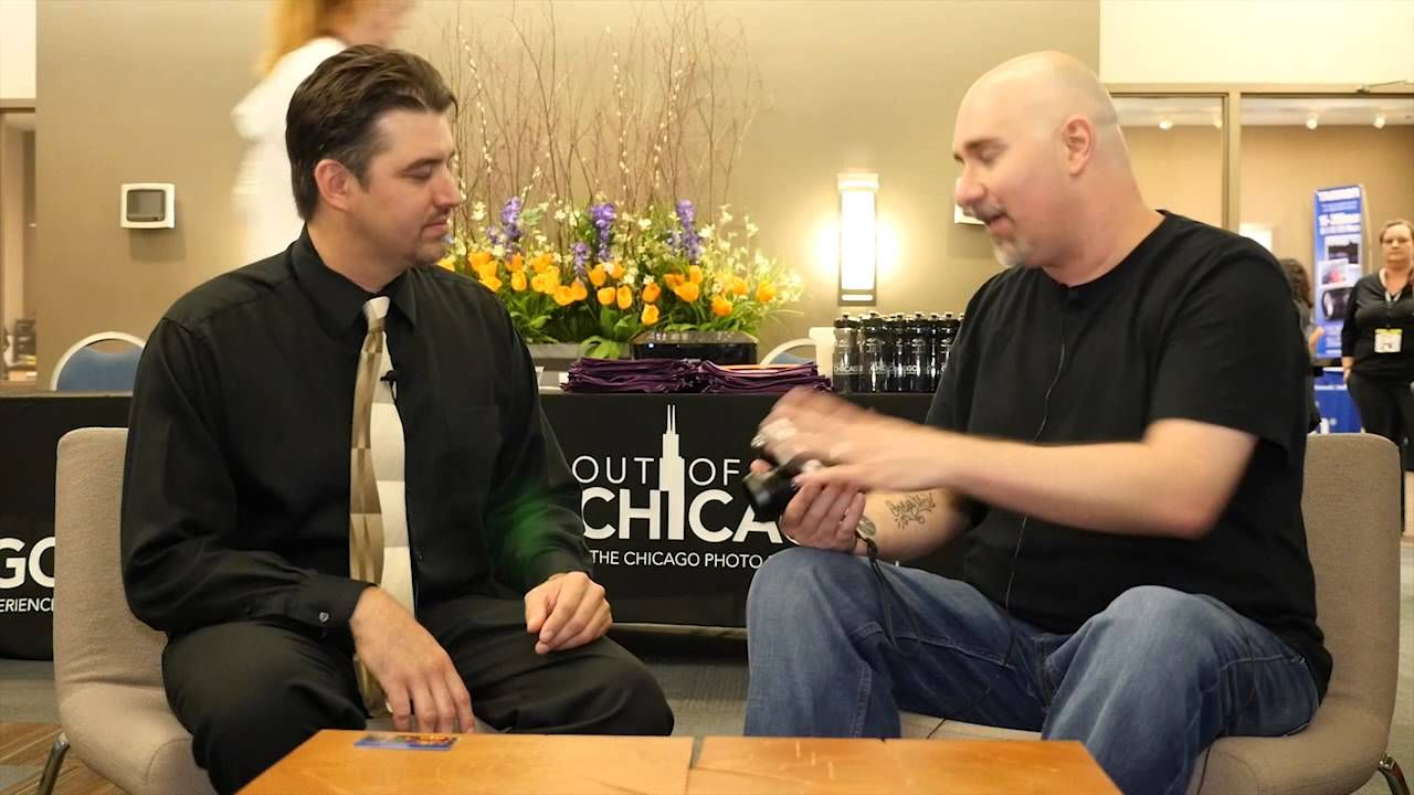 Lumix Luminary - Giulio Sciorio Interview at Out of Chicago 2015
