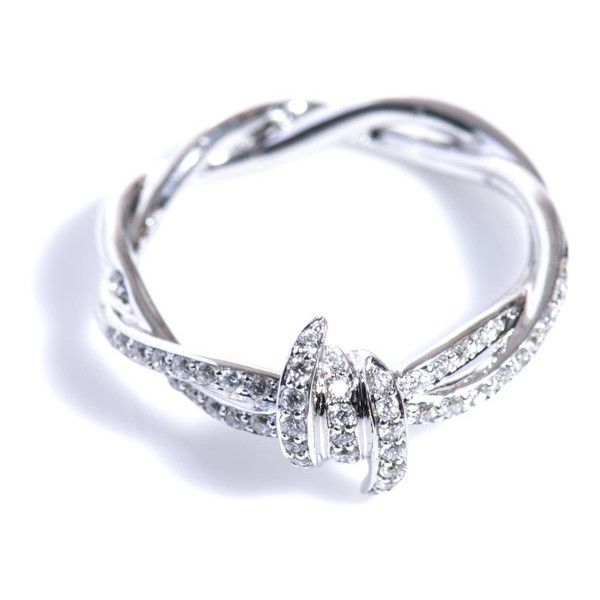 Stephen Webster Diamond and white gold barbed wire ring ($2,558 ...