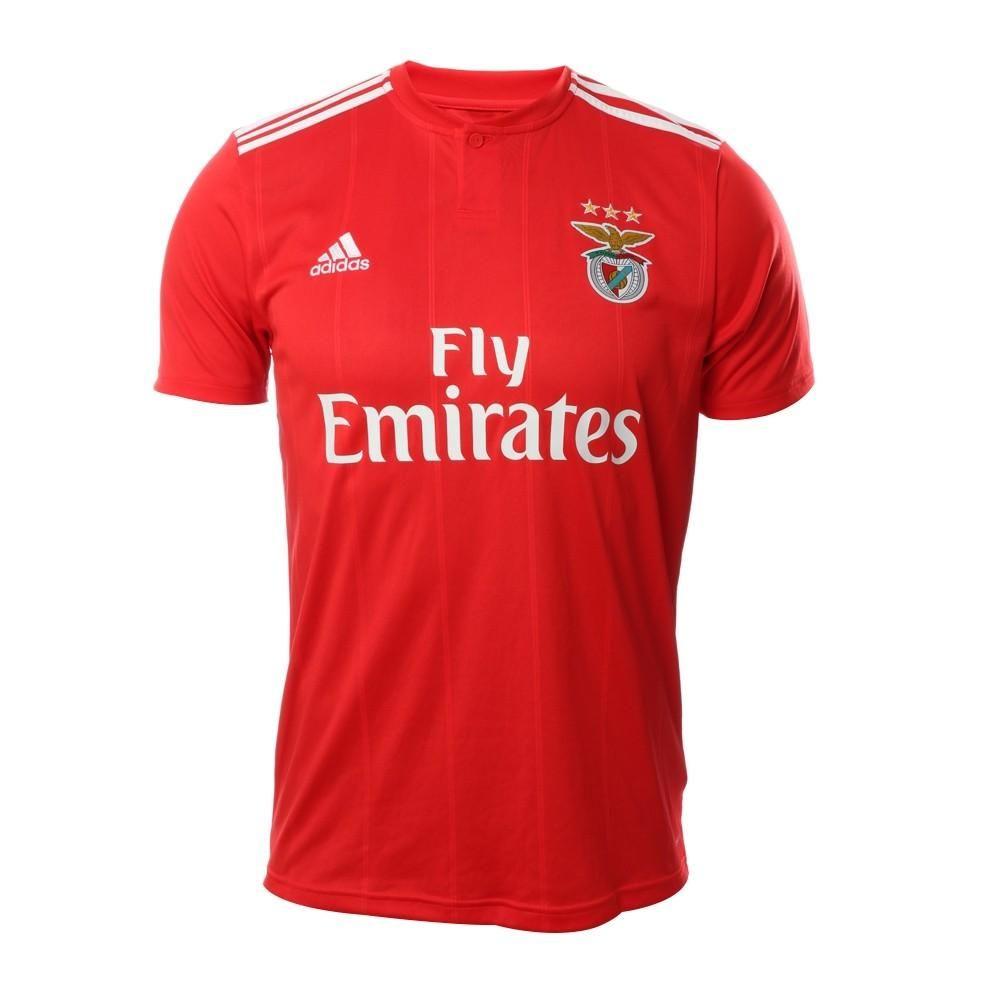 S.L. Benfica 2018 19 Home Adidas Red FÚTBOL CALCIO