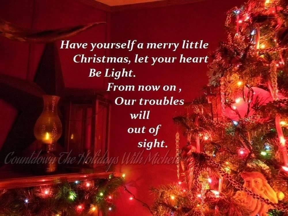 Pin By April Addington On Song Lyrics In 2020 Christmas Merry Little Christmas Holiday Decor