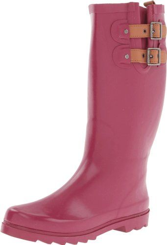Amazoncom  Chooka Womens Waterproof Solid Tall Rain Boot  MidCalf