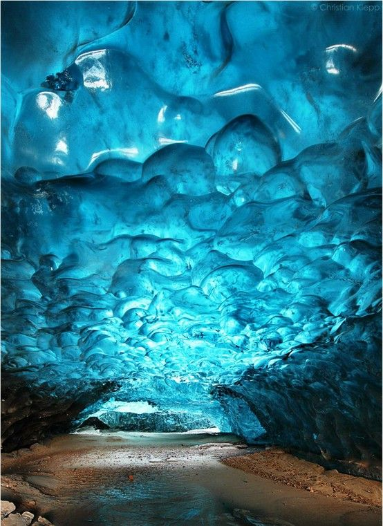 Skaftafell Ice Cave In Iceland