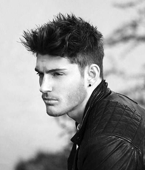40 Spiky Hairstyles For Men   Bold And Classic Haircut Ideas Gallery