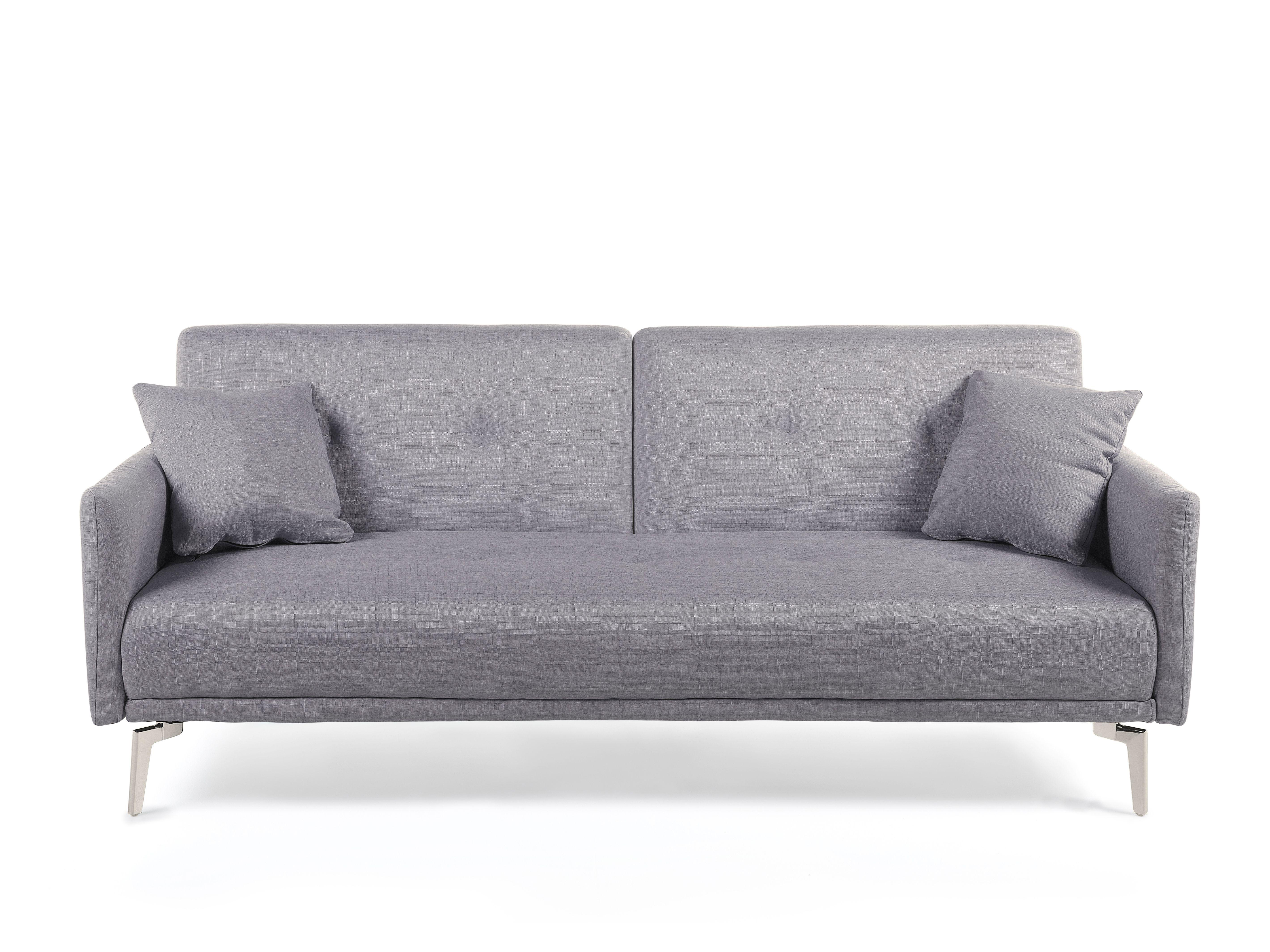 Sofa Z Funkcja Spania Szara Kanapa Rozkladana Wersalka Lucan Sofa Furniture Couch