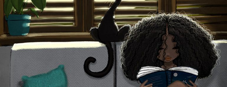 Cheyan lefebvre childhood cat curly