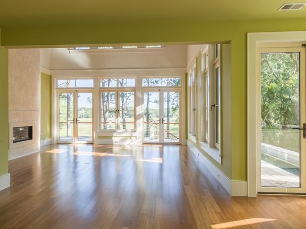Behind the Design: Great room takes on a new meaning! French doors ...