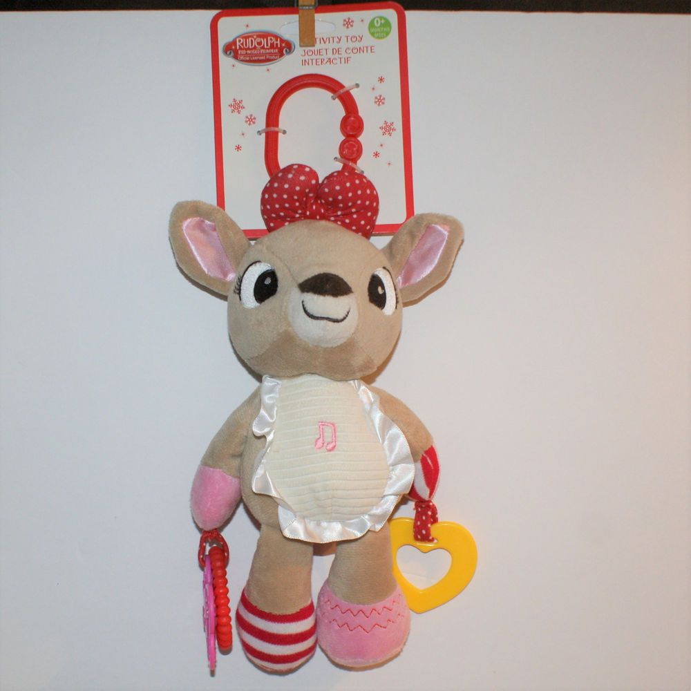 Clarice Activity Infant Plush Toy Baby Rudolph Musical