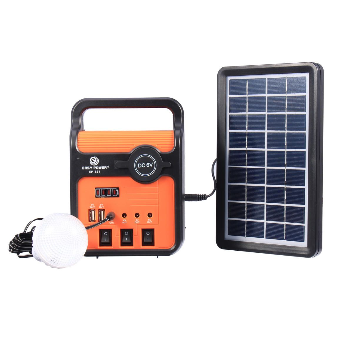 Us 64 99 25w Solar Power System Power Generator With Solar Panel Bulbs With Sock Usb Port Solar Power S Solar Power System Solar Power Panels Solar Panels