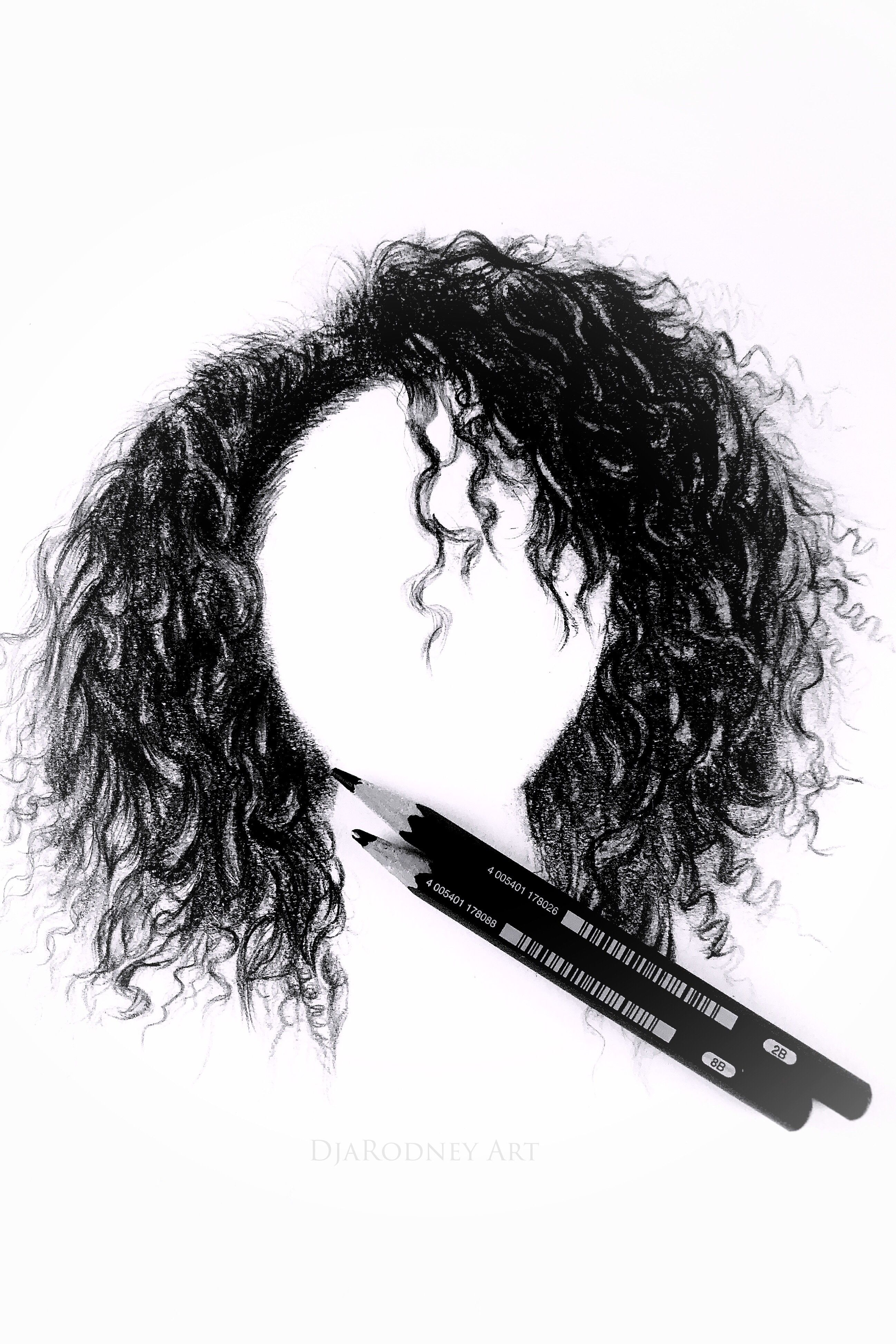 How To Draw Curly Hair Narrated How To Draw Hair Drawing Hair Tutorial Step By Step Sketches