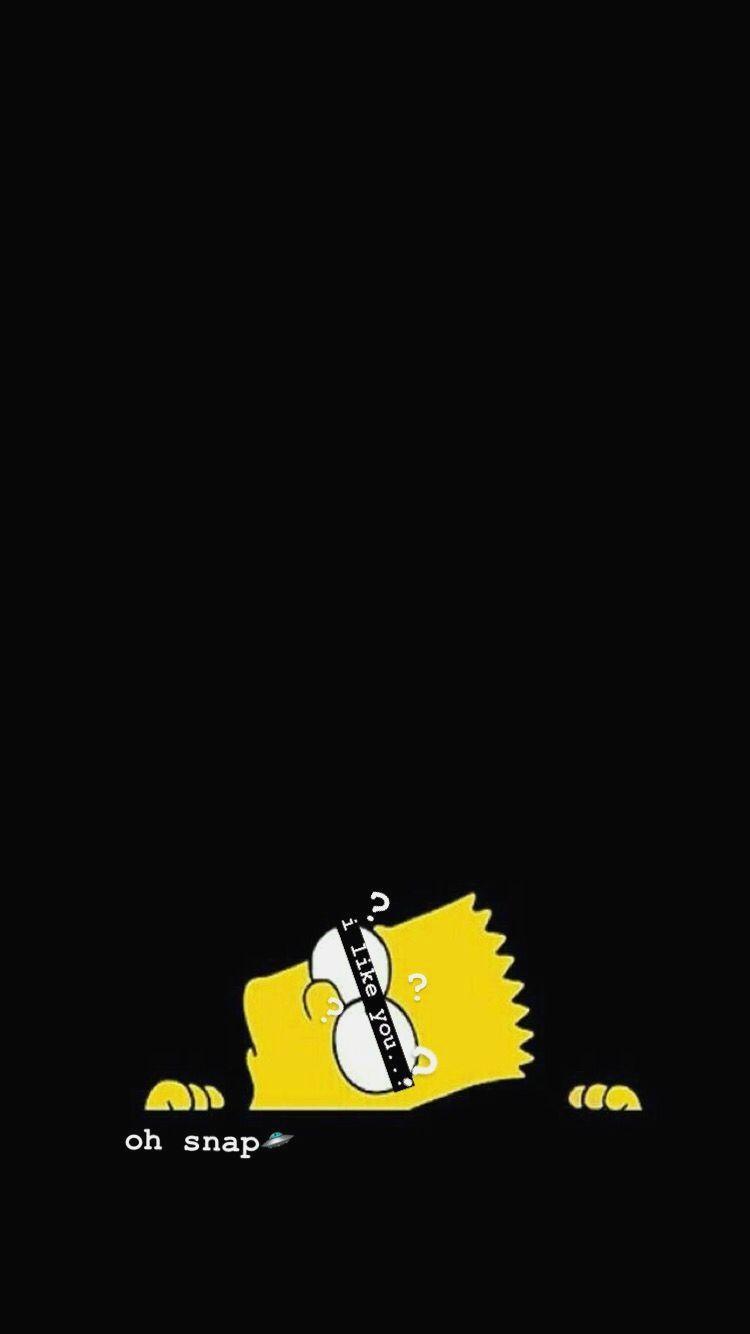 D Arttumblr Wallpaper Screen Pinterestch Simpson Wallpaper Iphone Iphone Cartoon Cartoon Wallpaper Iphone