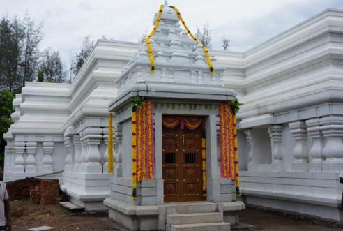 Memorial of architect V Ganapati Sthapati