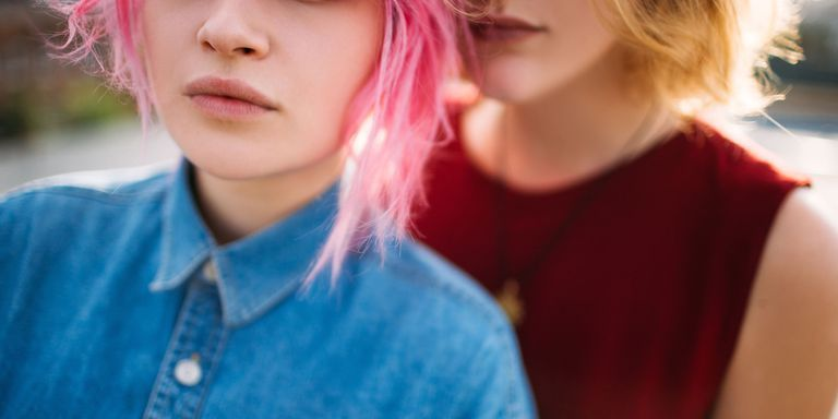 Non-Binary Female Struggles With Gendered Cancer