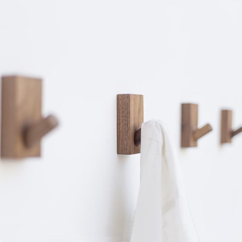 Creative Wall Hook Decorative Hook Wall Hook Coat Hangers Etsy In 2020 Decorative Wall Hooks Towel Hooks Wood Hooks