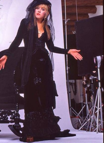 Classic Stevie Nicks 'Rock A Little' album era photo-this outfit is beautiful. ©HWWIII by Rosemary C.