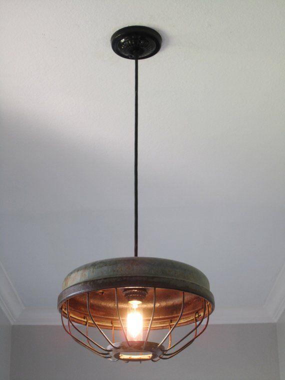 En Feeder Pendant Lighting Vintage Kitchen Farmhous