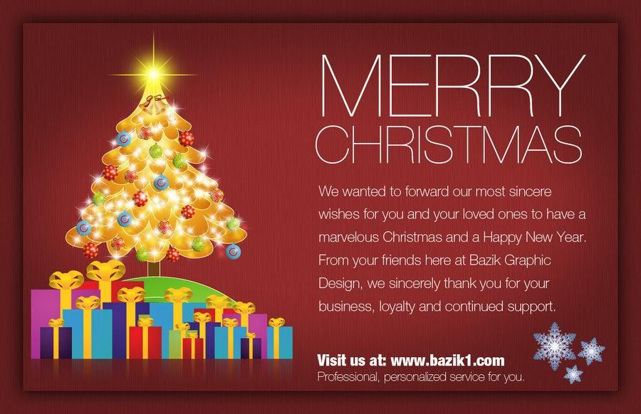 Christmas Greetings from Employee | Merry Christmas | Pinterest ...
