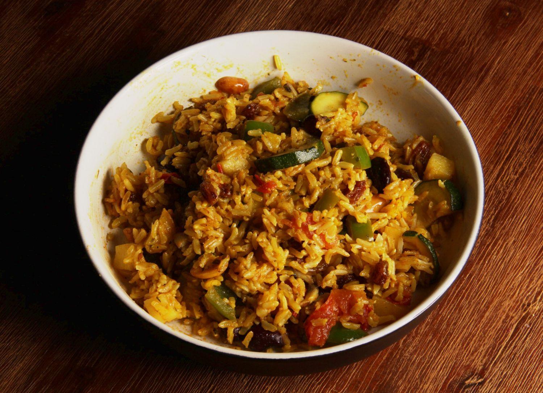 Fruchtige Afrikanische Reispfanne Kochrezepte Pinterest Food