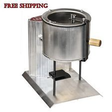Electric Metal Melter Pot Lead Melting Furnace Casting Molds