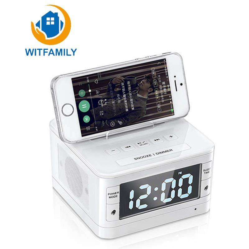 Us 48 14 Apple Audio Andrews Home Multi Function Wireless Bluetooth Andrews Apple Audio Bluetooth Home Radio Alarm Clock Bluetooth Radio