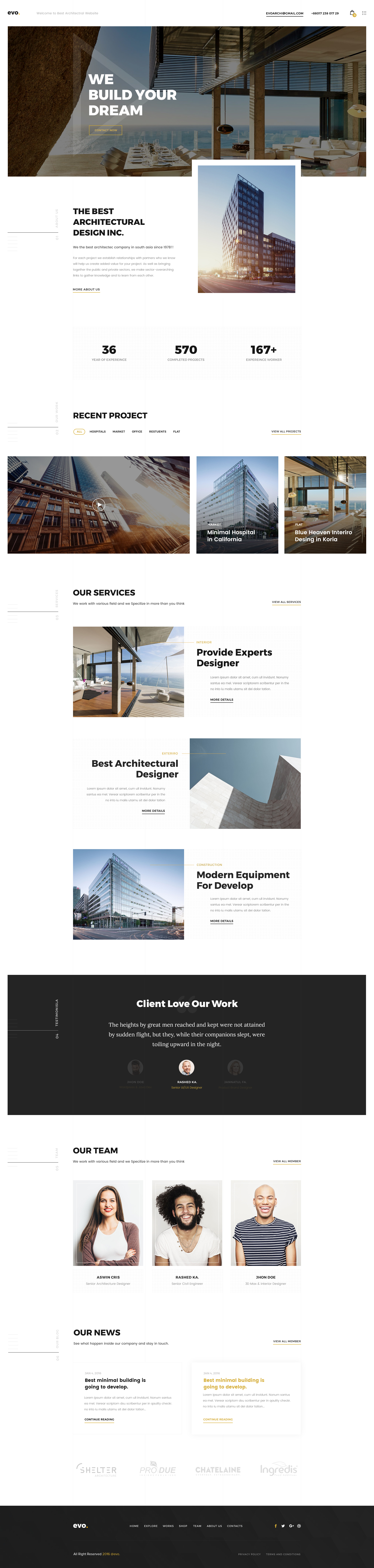 Home Page for Digital Agency   Real estate   Pinterest   Creative cv ...