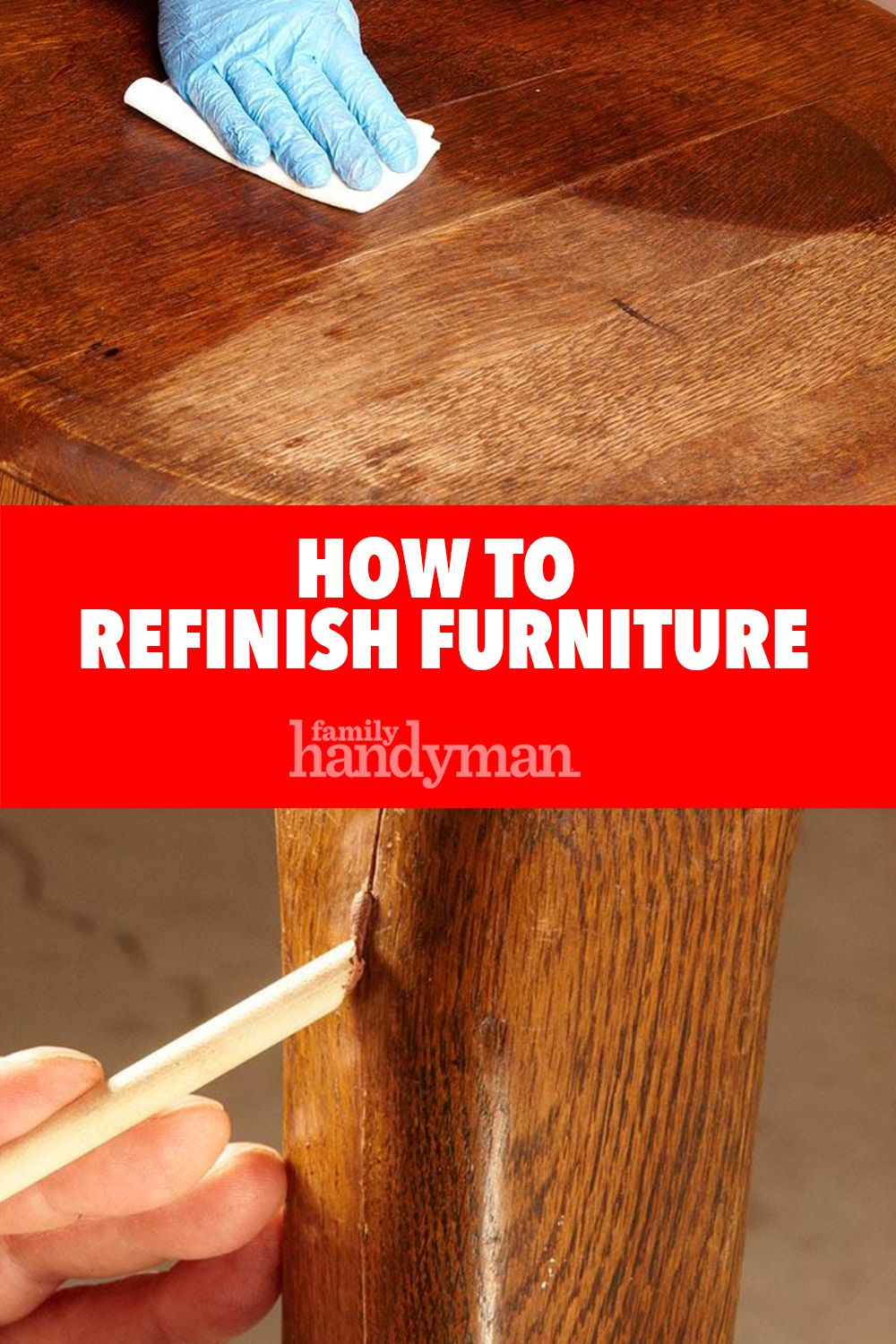 Refinish Furniture Repair