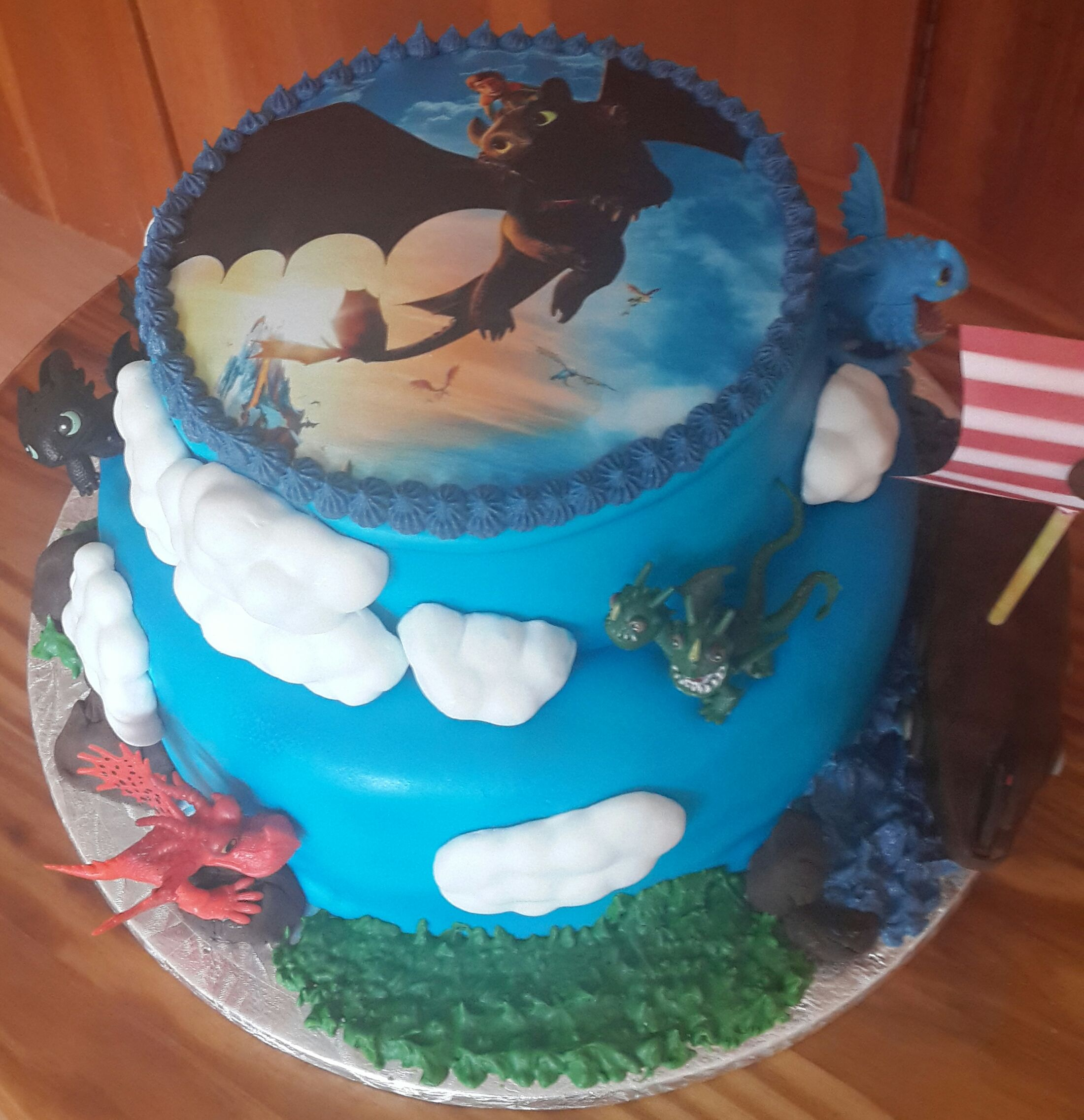 How To Train Your Dragon Birthday Cake Awesome Ness Pinterest