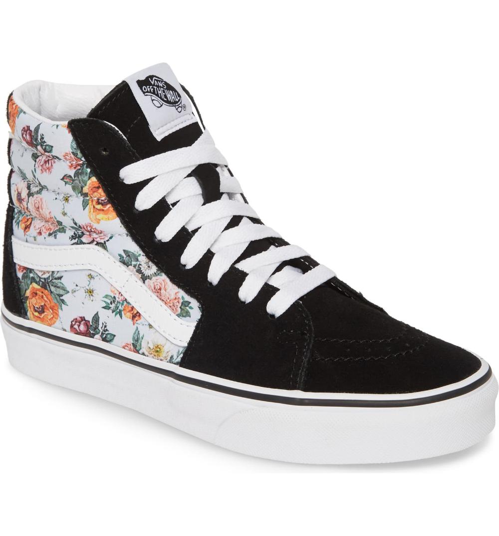 Vans Sk8-Hi Checker Floral High Top