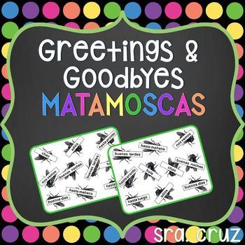Greetings and goodbyes matamoscas game saludos y despedidas greetings and goodbyes matamoscas game m4hsunfo