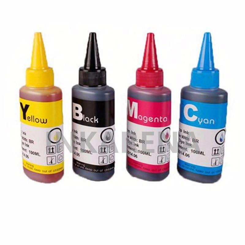 400ML Universal Refill Ink kit For HP Printer Cartridge For hp 60 ...