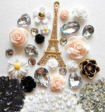 Cell phone bling with French flair!  A fun way to personalize and do some hand crafting.