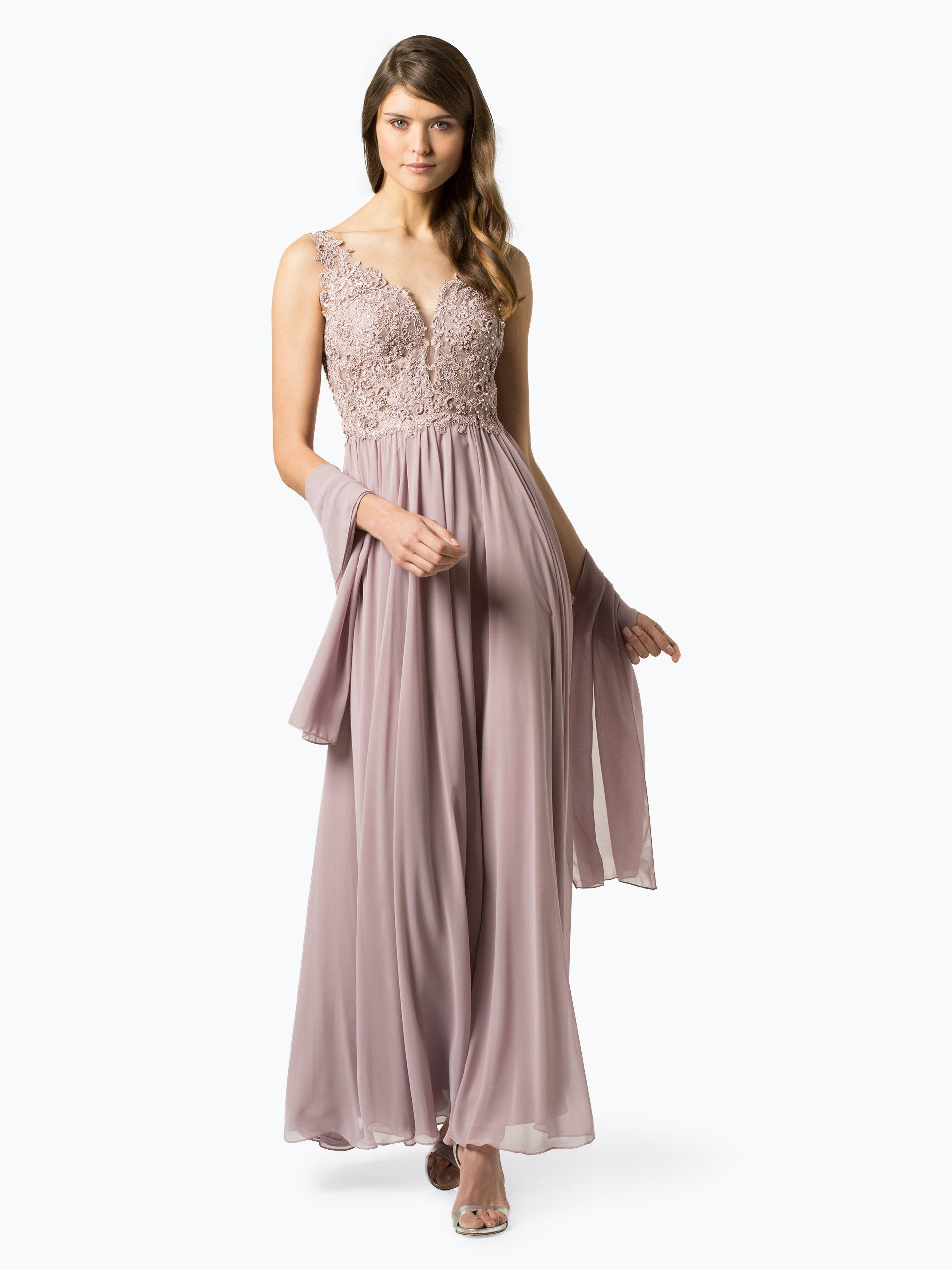 unique damen abendkleid mit stola | abendkleid, damen