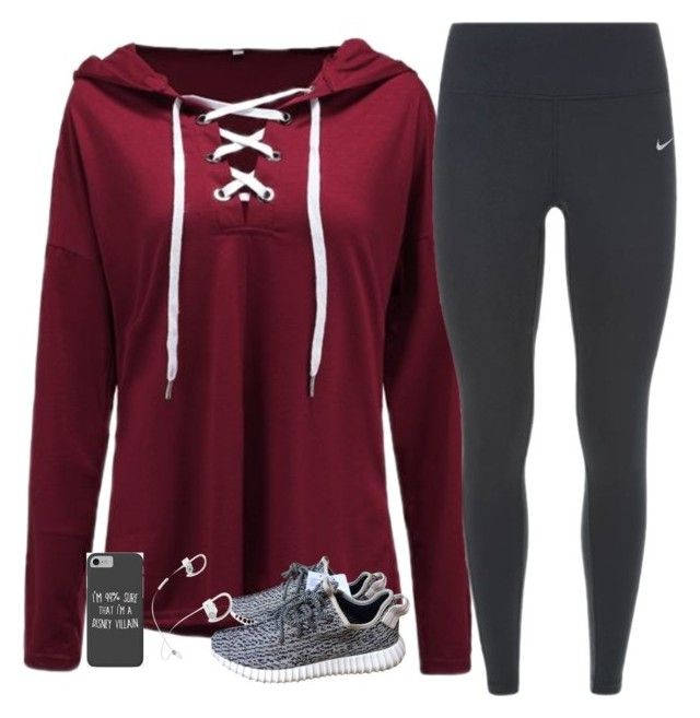 """""""Untitled #1638"""" by southernstruttin on Polyvore featuring NIKE, adidas, Beats by Dr. Dre and Disney"""