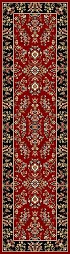 Burgundy Red  Lyndhurst Tabriz Rug | Free Shipping! |  Safavieh No. LNH331