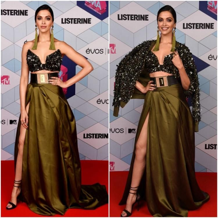 Celebrity Style,deepika padukone,monisha jaising,Valliyan,Balmain,Shaleena Nathani,MTV EMAs