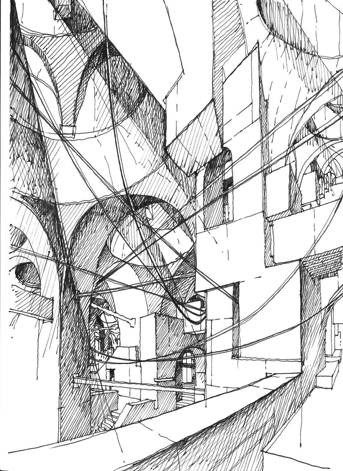 The Architecture Draftsman Architecture Sketch Diagram Architecture Architecture