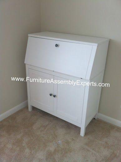 ikea hemnes secretary desk assembled in baltimore md by. Black Bedroom Furniture Sets. Home Design Ideas