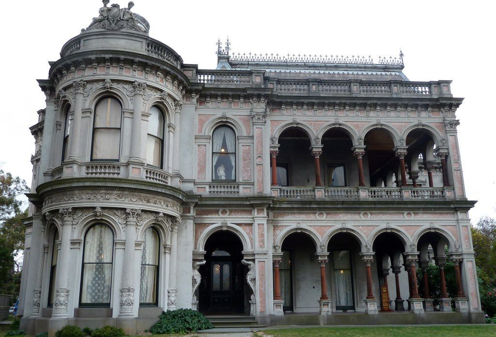 Ok So It May Be A Little Haunted But It Is Sooo Beautiful Labassa Mansion Caulfield North Melbourne Victoria Abandoned Mansions Mansions Abandoned Places