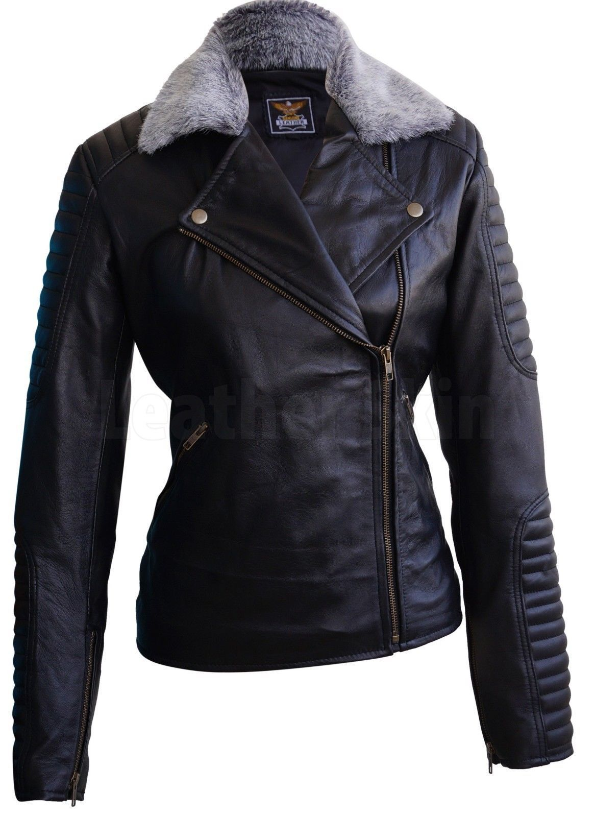 Pin By Lion Emporio On Fashion Clothing Womens Black Leather Jacket Leather Jackets Women Genuine Leather Jackets [ 1600 x 1166 Pixel ]