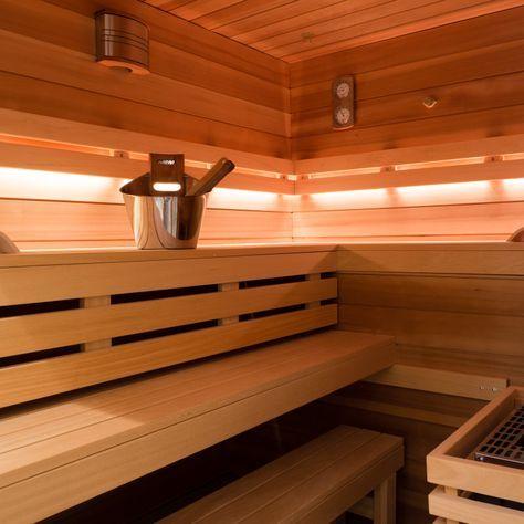Diy Sauna Selber Bauen Sauna Pinterest Sauna Diy Sauna Und