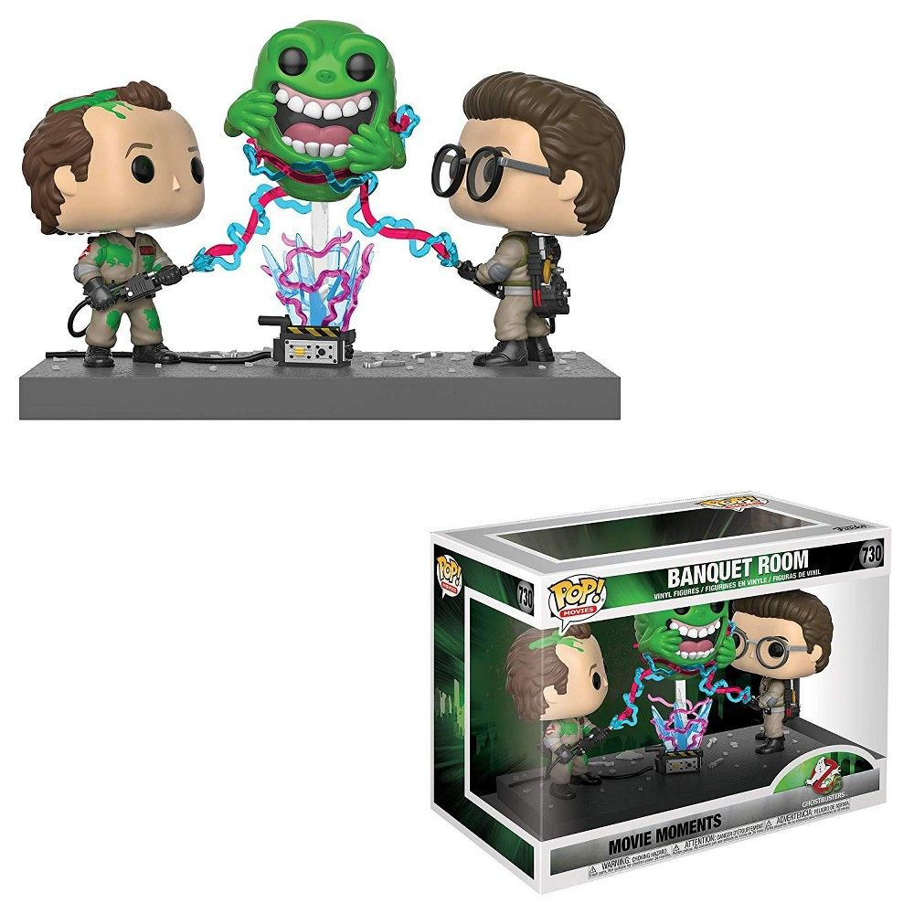 Banquet Room Movie Moments 3-Pack #730 Exclusive Funko Pop Ghostbusters