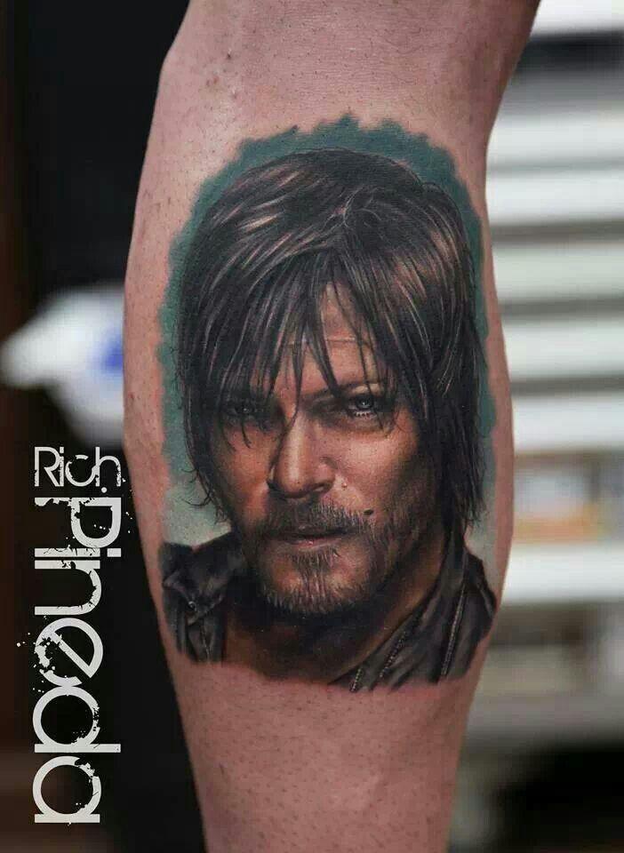 Walking dead tattoo