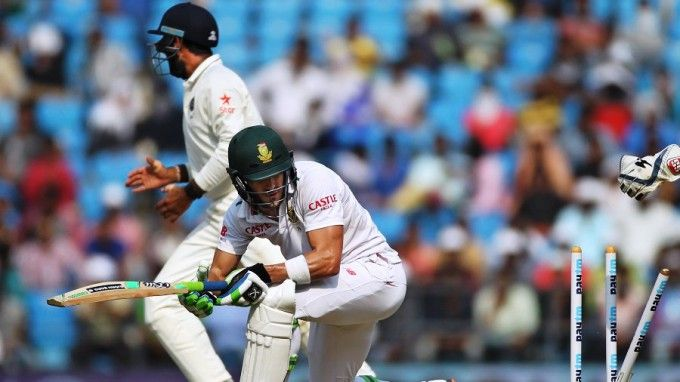 India win Test series against South Africa