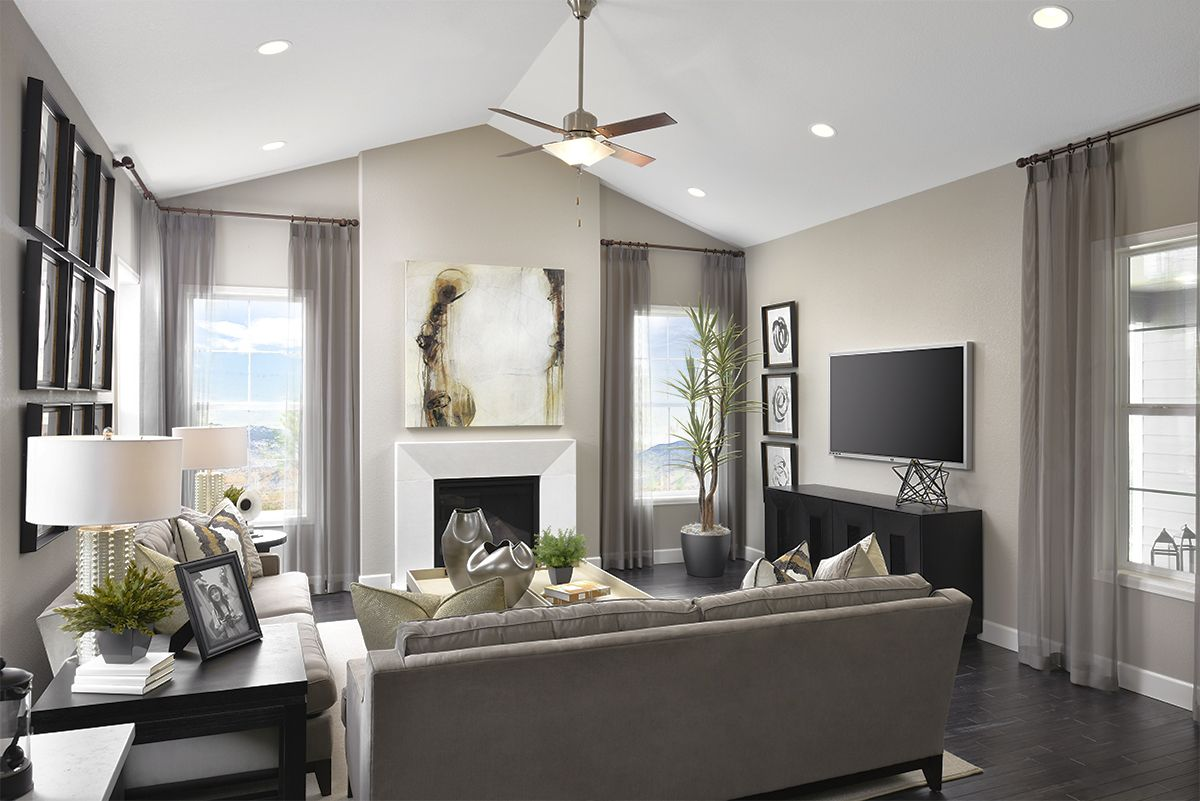 Does Your Dream Great Room Have A Vaulted Ceiling Daley M