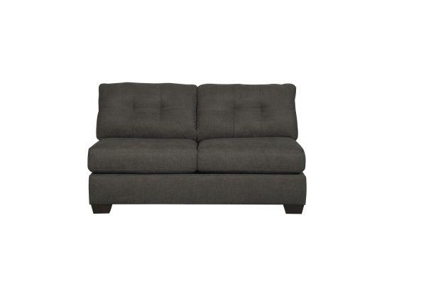 Pleasant Ashley Furniture Delta City Armless Loveseat Benchcraft Beatyapartments Chair Design Images Beatyapartmentscom