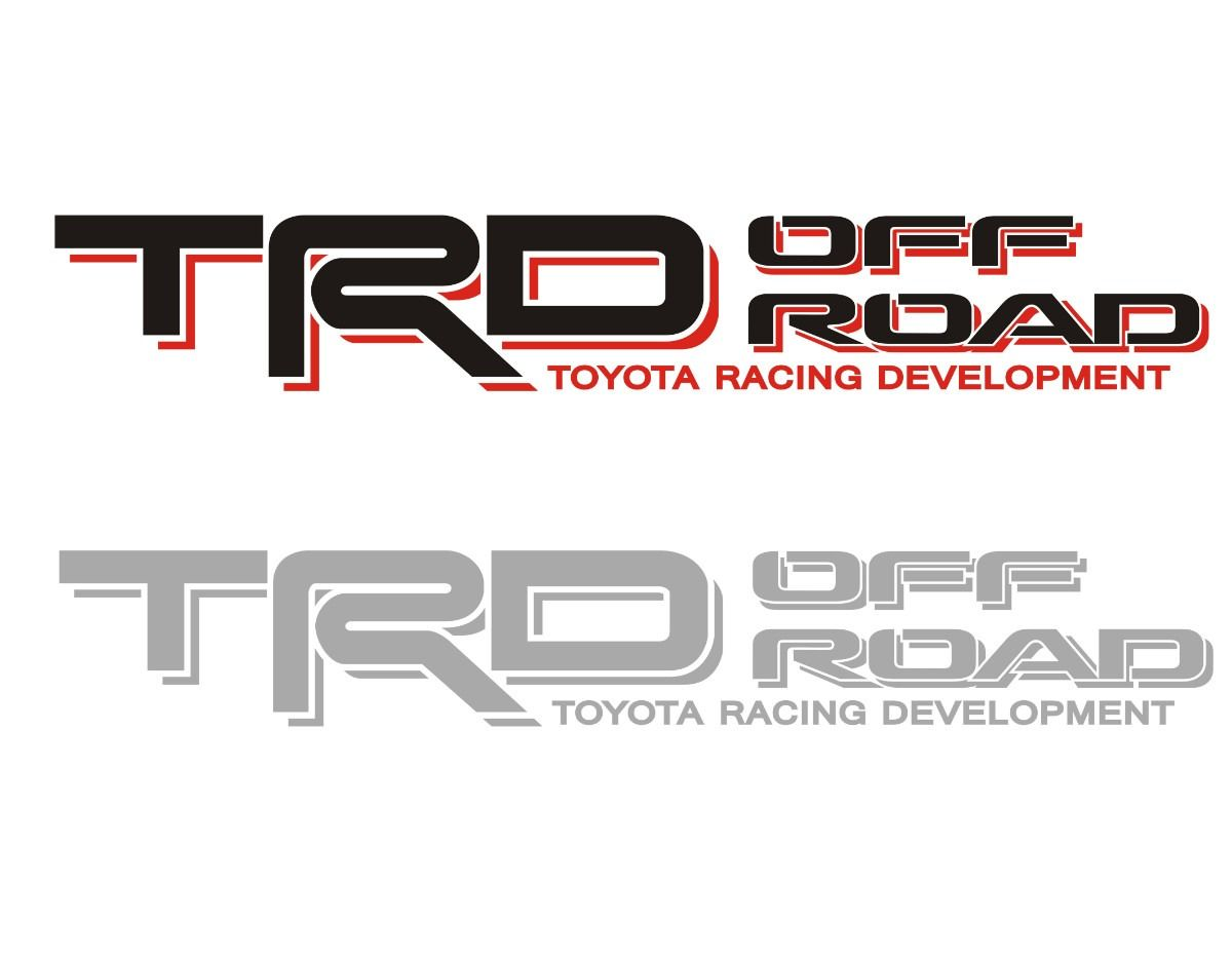 sticker toyota trd #1 | Places to Visit | Pinterest