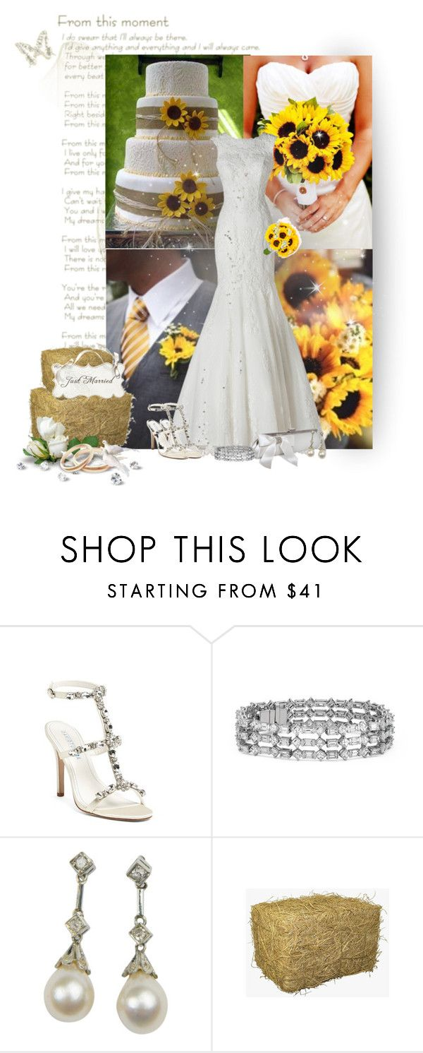 """Sunflower Wedding"" by cindycook10 ❤ liked on Polyvore featuring Avance, David Tutera and Blue Nile"